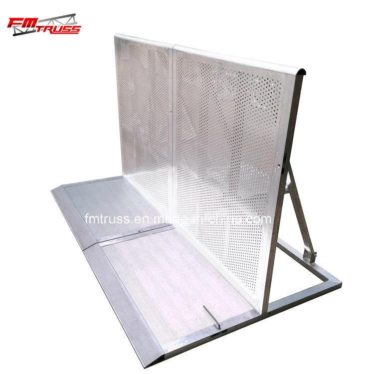 Concrete Barrier, Aluminum Concert Crowd Control Barrier, Control Barricade for Concert.