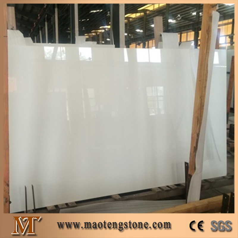 Crystallized Wite Glass Panel
