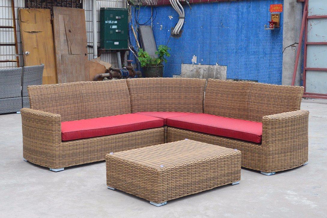 Garden Patio Wicker Rattan Outdoor Holga Home Hotel Office Outdoor Sofa (J546)