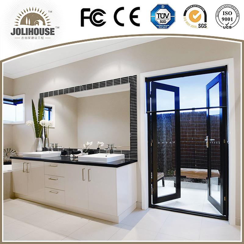 2017 China Factory Cheap Aluminum Casement Door