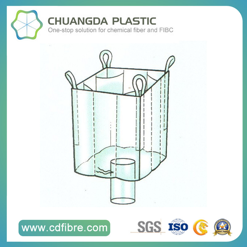 Big FIBC Bulk Bag Baffle Ton Bag for Packing Chemicals