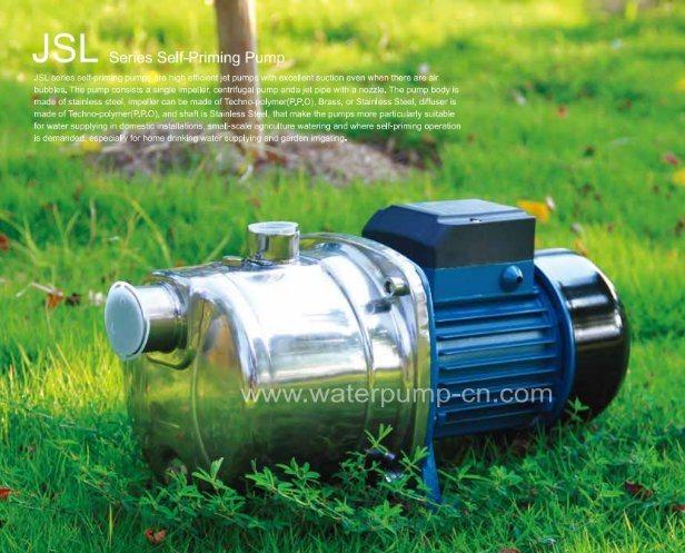 High Pressure Self-Priming Stainless Steel Water Pump (JSL)