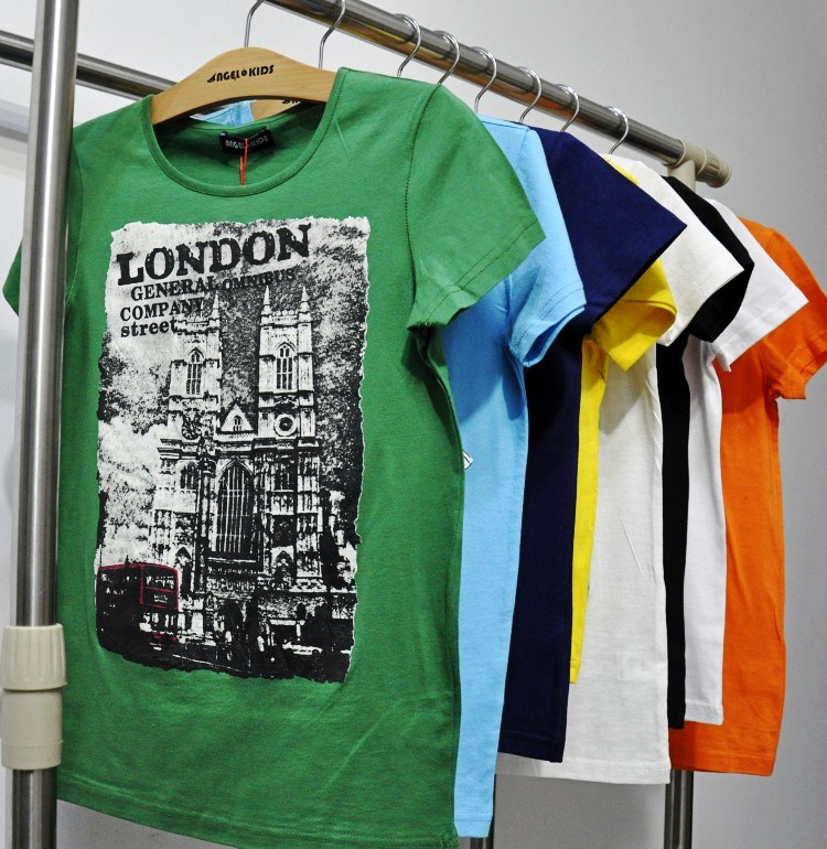 Kids T-Shirt for Summer with Fashion Print