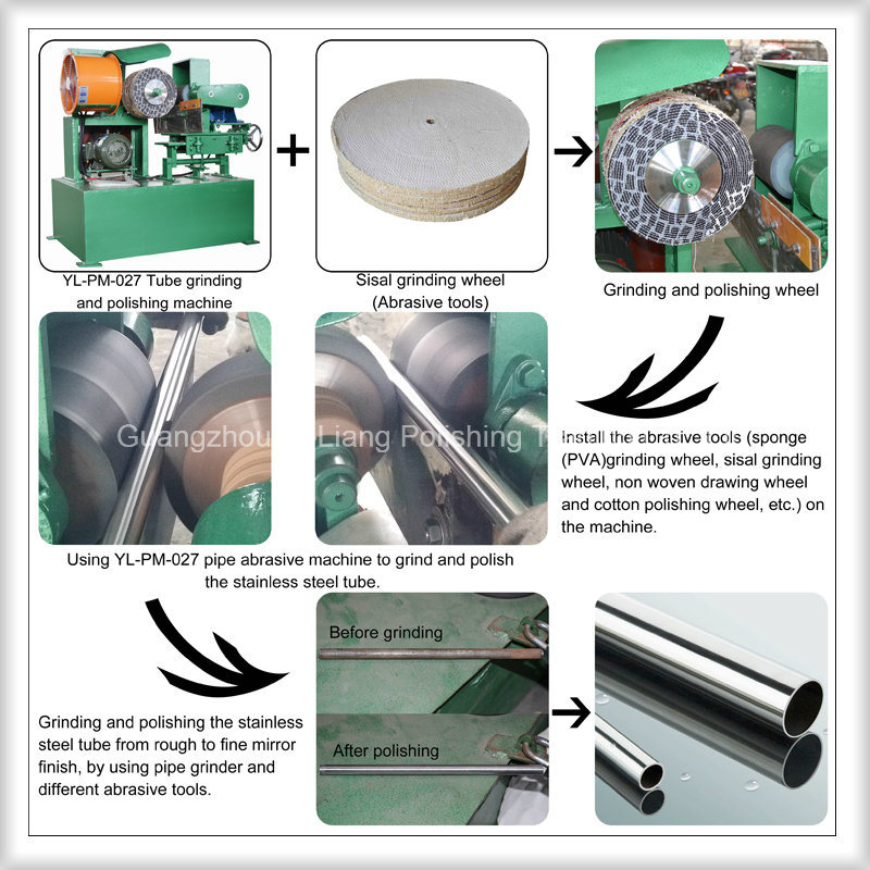 Copper Tube Handle Wire Drawing and Fine Polishing Machinery