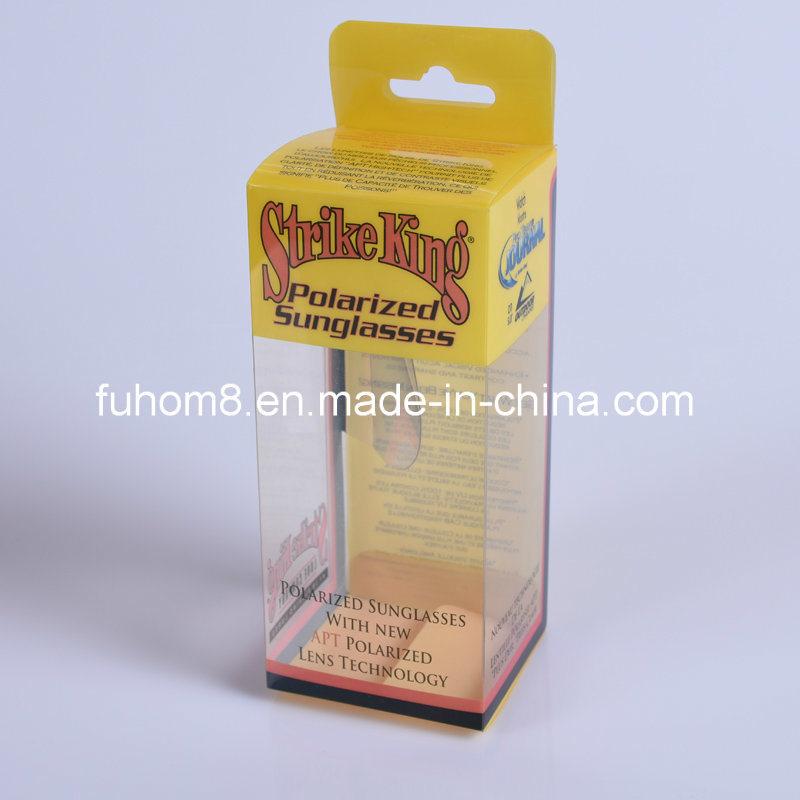 Custom Clear Printing PP/PVC/Pet Plastic Packaging Cosmetic Box