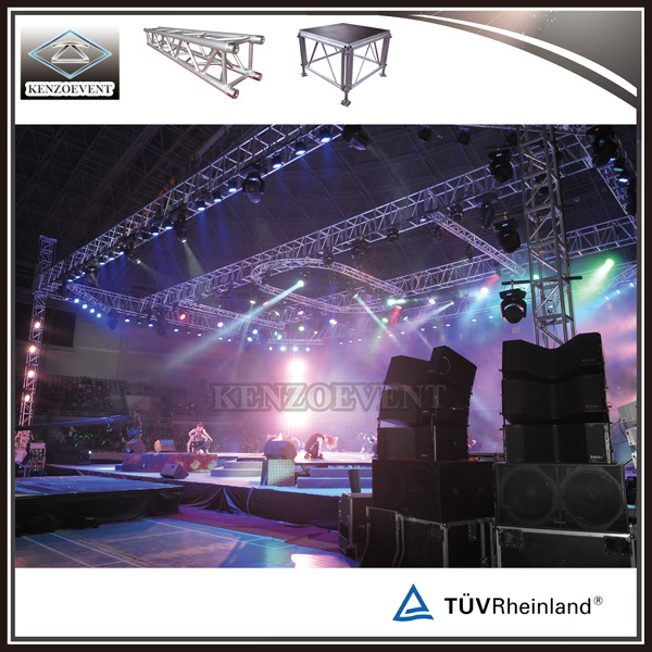 Manual Lighting Box Truss Lift Tower for Events