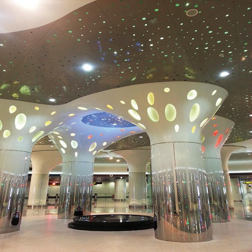 Acoustic Aluminum Perforated Ceiling