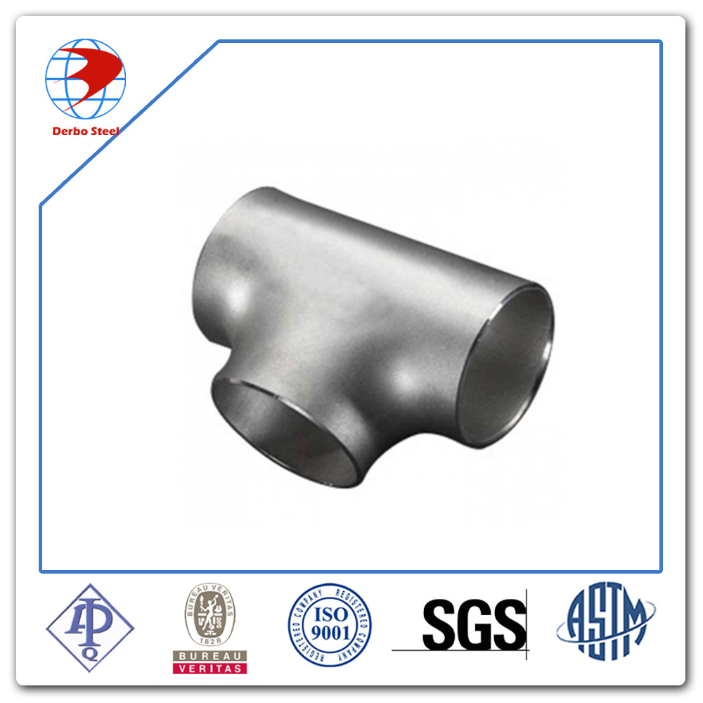 16 Inch Ss304 300lb Stainless Steel Welded Equal Tee