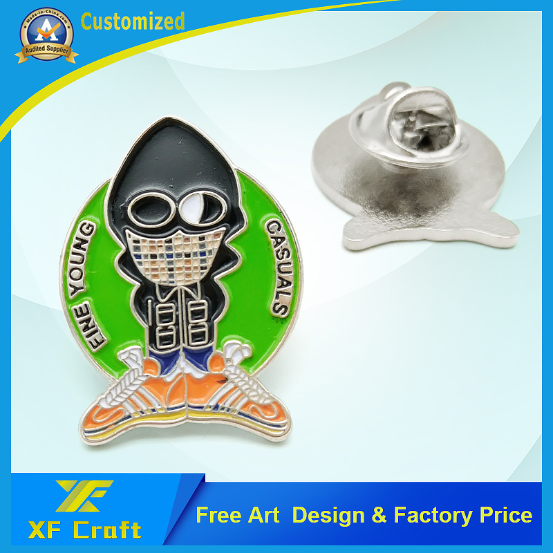 Professional Customized Popular Metal Pins with Any Design (XF-BG35)