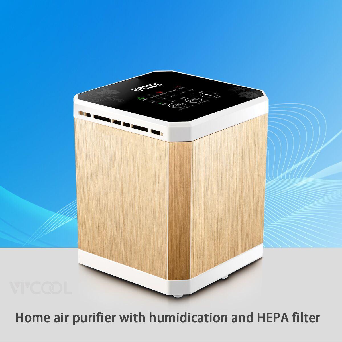 Mini Office Air Purifier Desktop