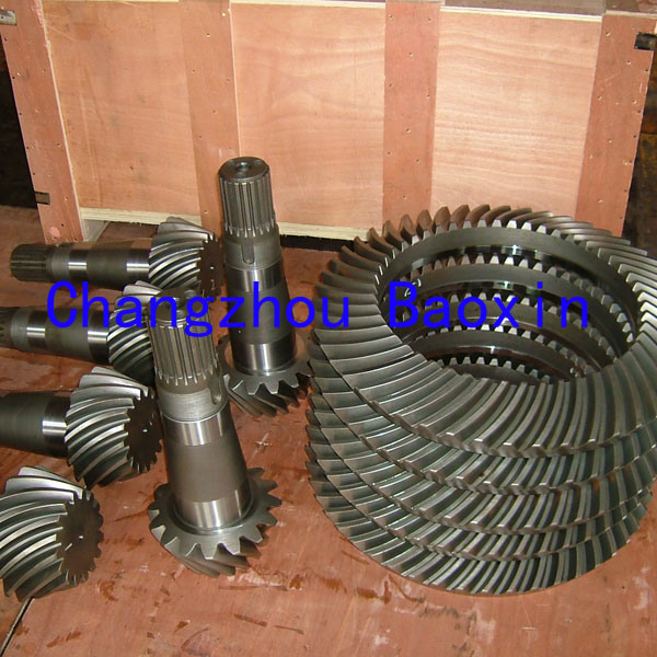 China High Quality Precision Sipral Bevel Gear
