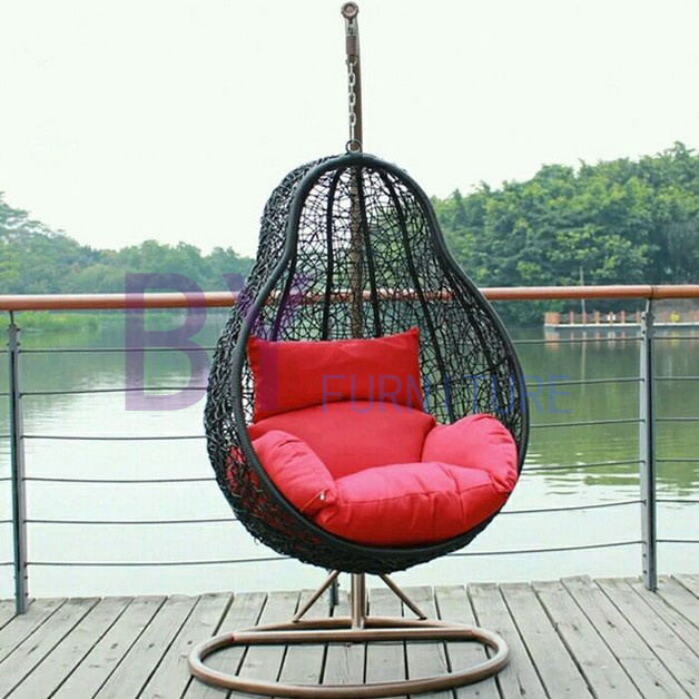 Leisure PE Rattan Swing Chair Outdoor