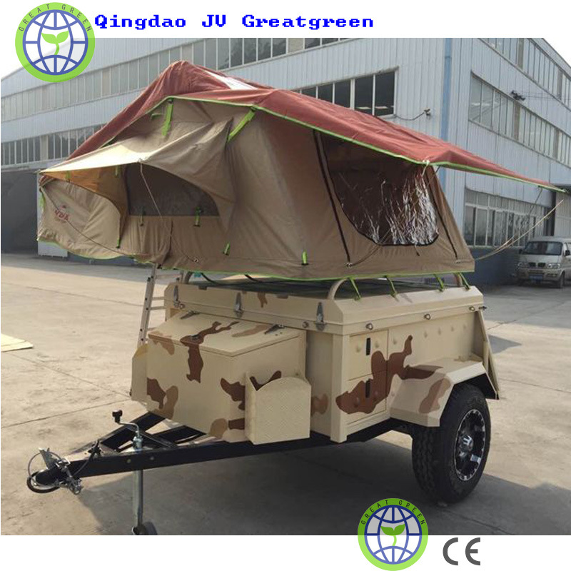 Trailer Tent for Family Camp and Travel