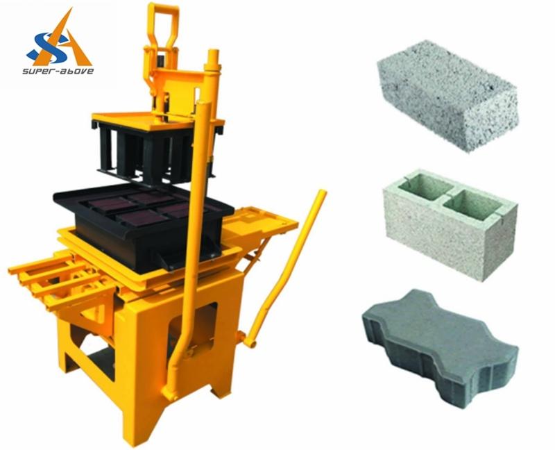 Small Concrete Block Making Machine