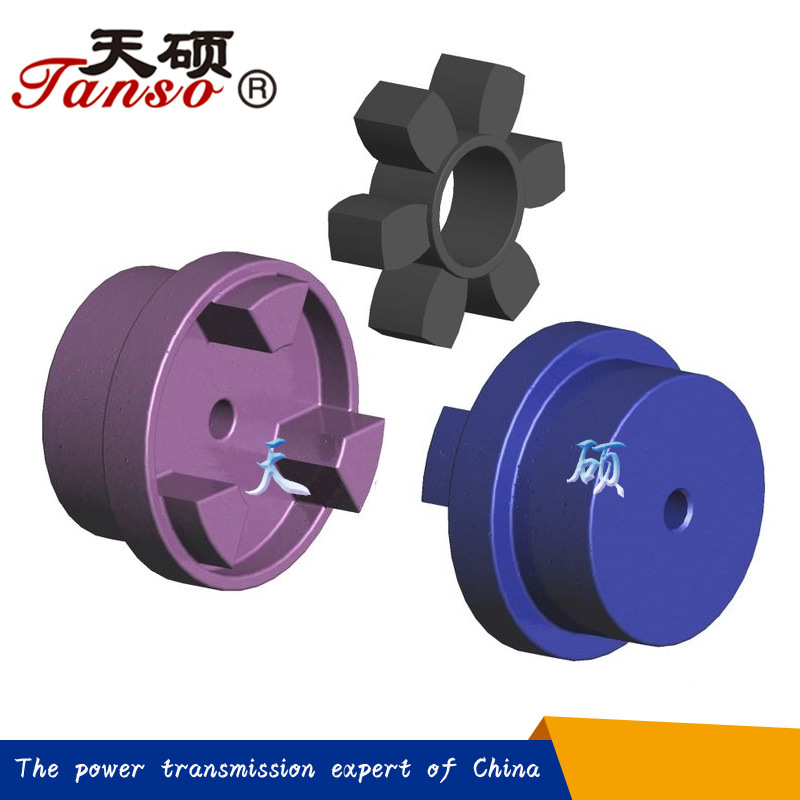 China Supplier Aluminum Tsl Curved Jaw Coupling for Mining Machinery