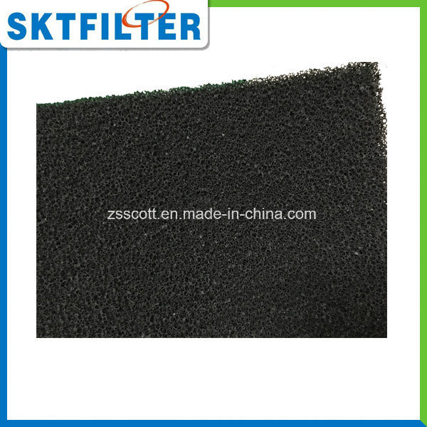 Hot Sale Customize Size Activated Carbon Foam Filter