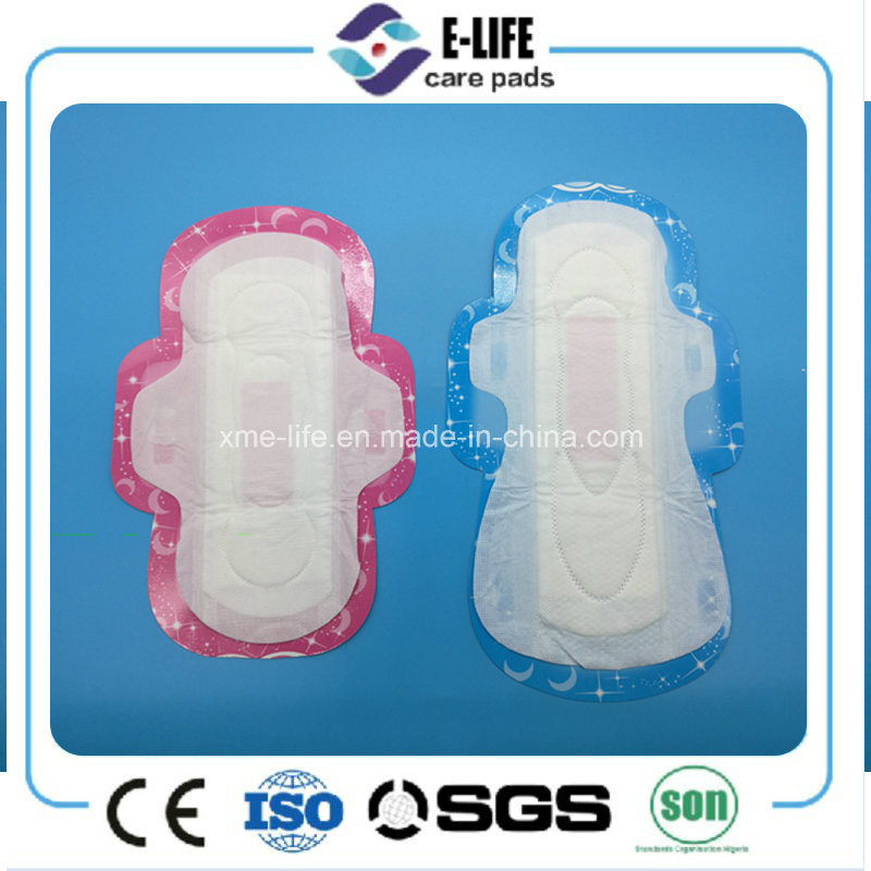 Cheap Cotton Sanitary Napkin/Mesh Sanitary Towel