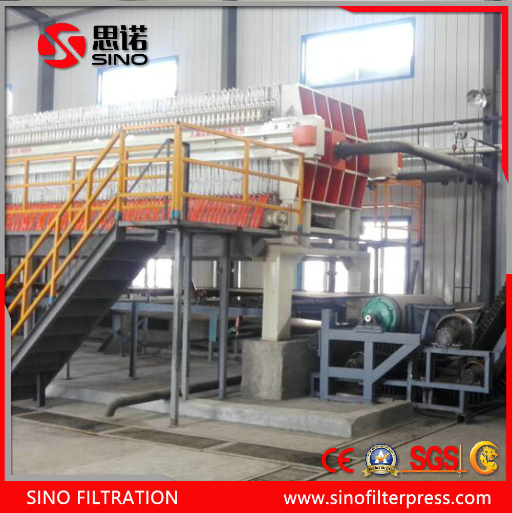 Chemical Automatic Membrane Hydraulic Filter Press for Coating