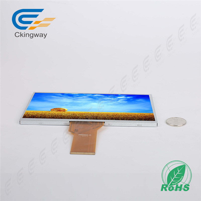 "7""800*480 250cr RGB Interface TFT Display Module"