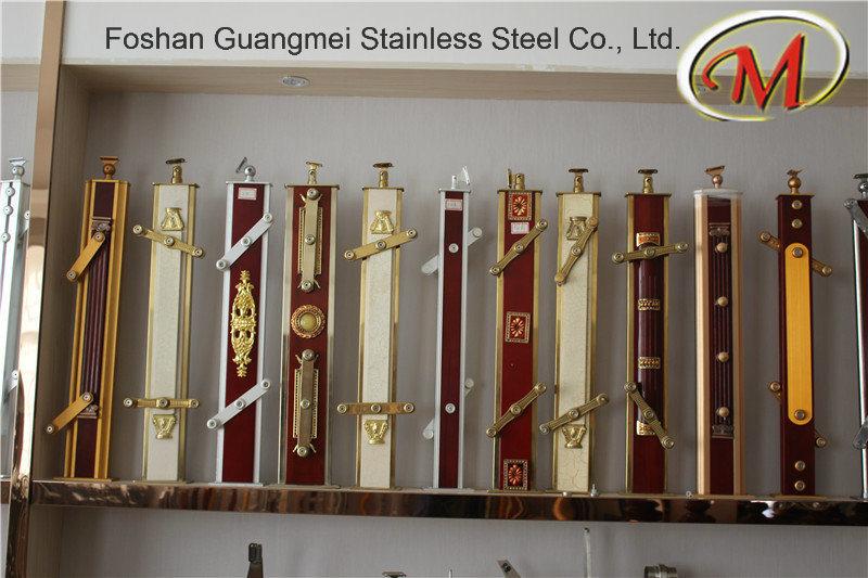 Sanding Finish Stainless Steel Material Railing Pillars (GM-B068 / GM-B039-E / GM-B036-3)