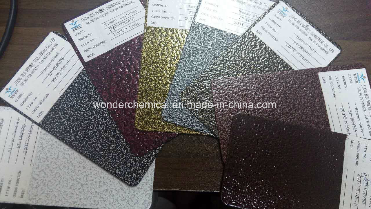 Corrosion Resisting Bronze Gold Vein Hammer Texture Coating Powder