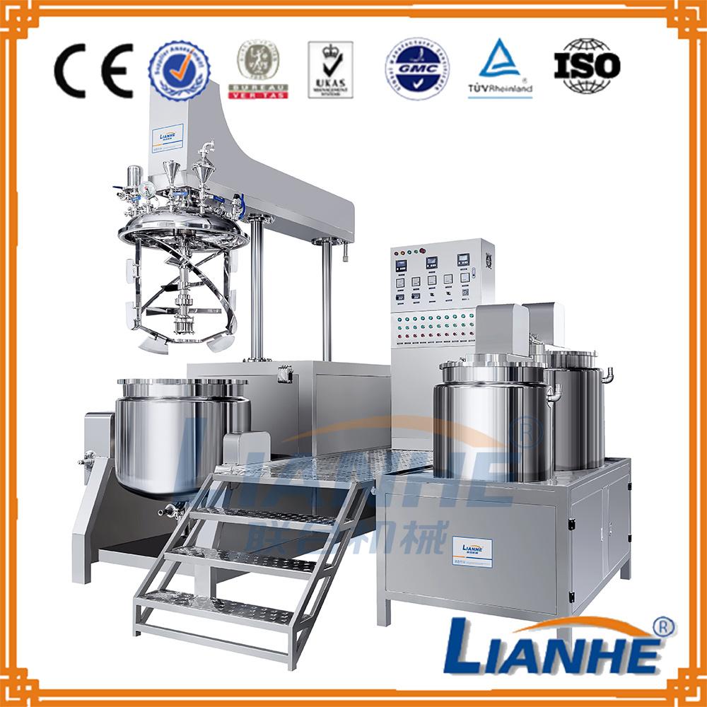 Cosmetic Cream Making Machine Vacuum Emulsifying Machine