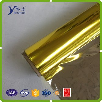 0.012mm Metallized Film with Red Color