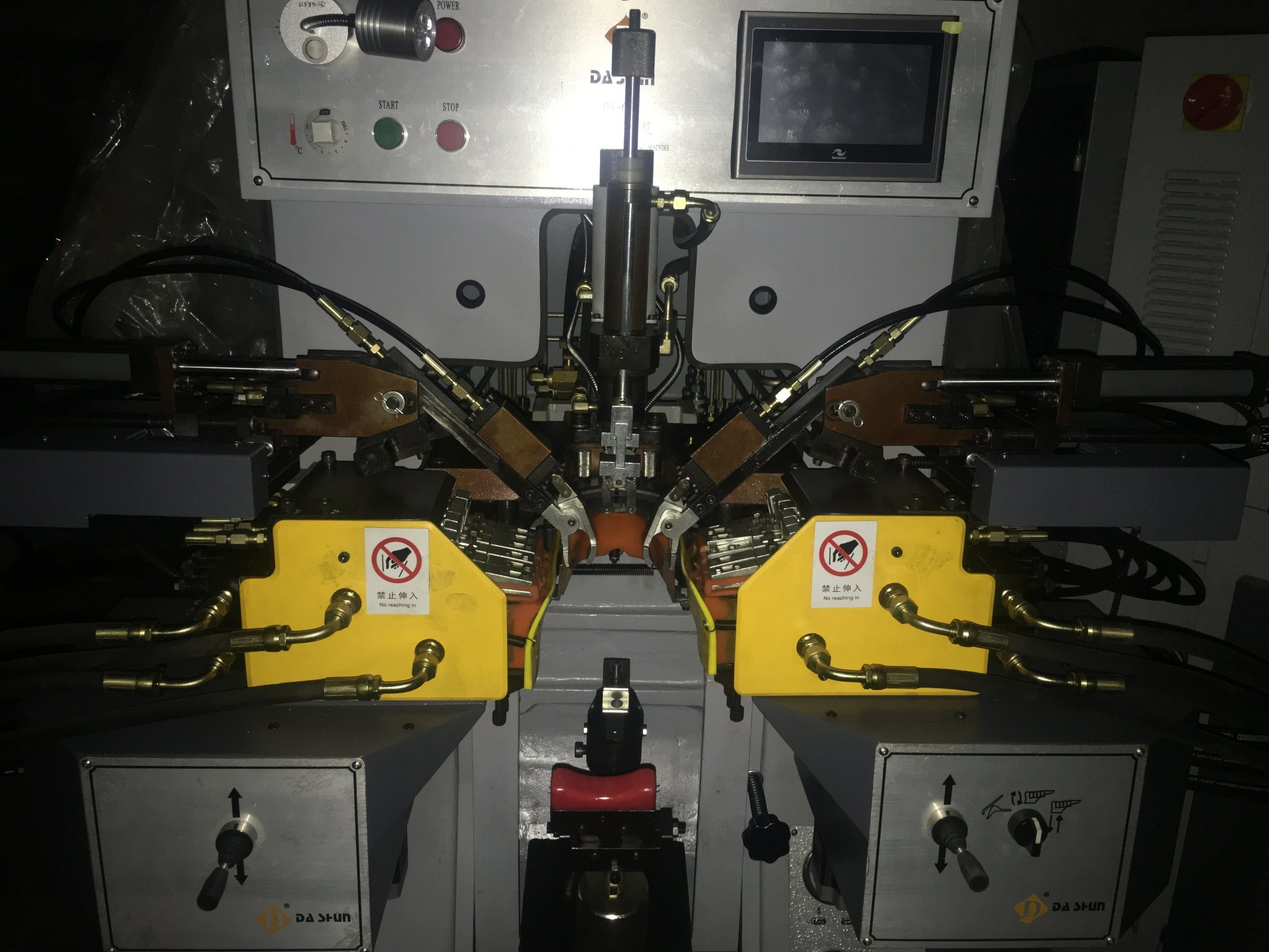 Ds-658zn Intelligent Side & Heel Lasting Machine for Shoe
