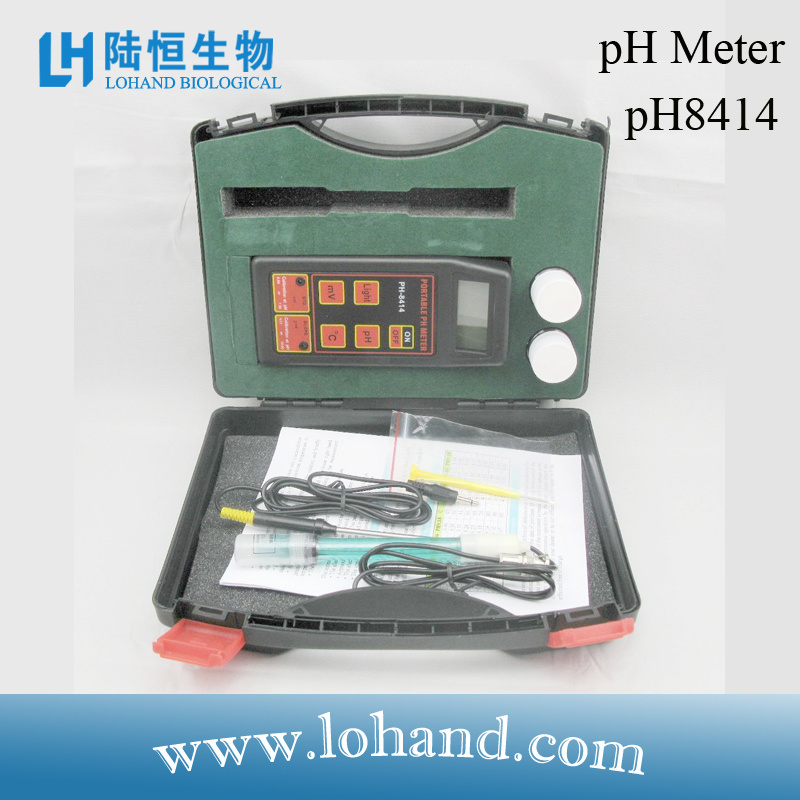 Portable pH Meter pH Test with Ce Certificate (pH-8414)