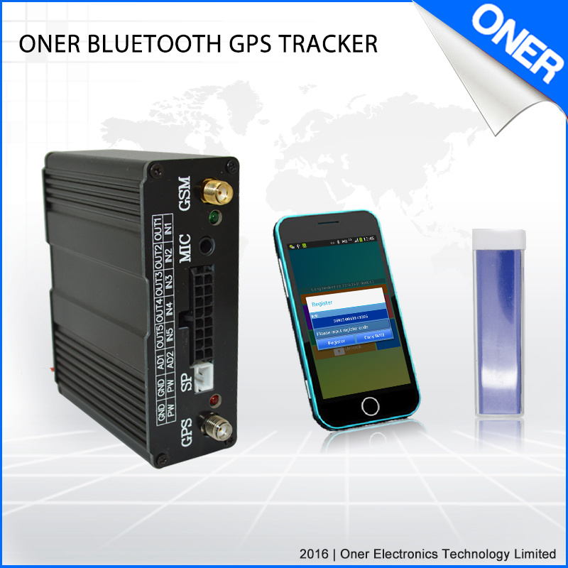 GPS Tracking Device with Bluetooth APP for Anti-Theft of Fleet.