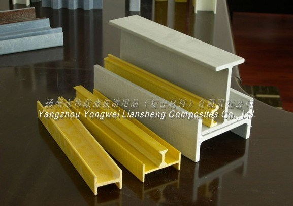 Fiberglass Wide Flange Beams : China frp h beams grp i profiles fiberglass wide flange