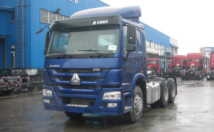 New Sinotruk 371HP HOWO Tractor Truck Trailer Head