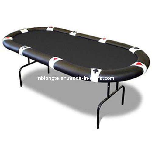 Casino style poker table
