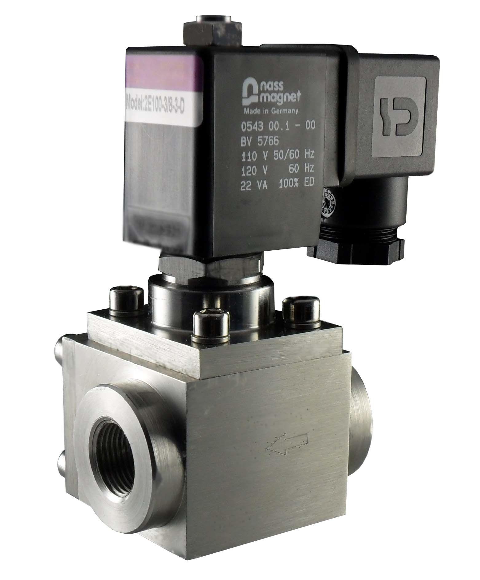 High pressure valve meddic