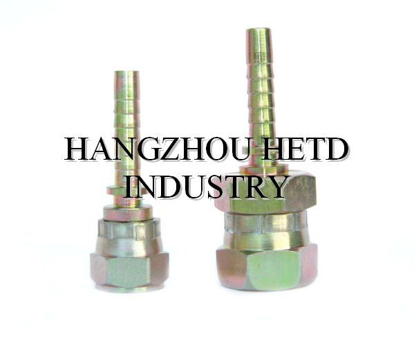 Hydraulic Hose Fitting with Galvanization Treatment