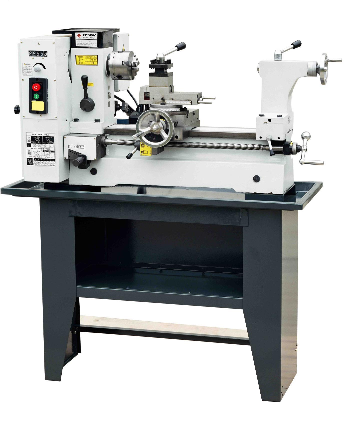 China Precision Bench Lathe Diy1616v Photos Pictures Made In