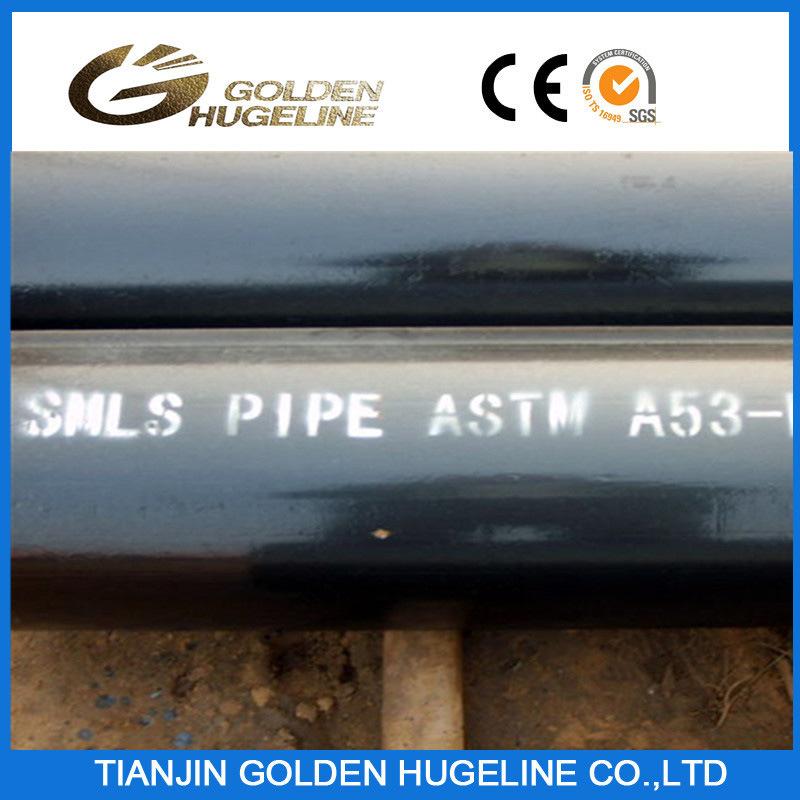API 5L A53 Gr. B Seamless Steel Pipe