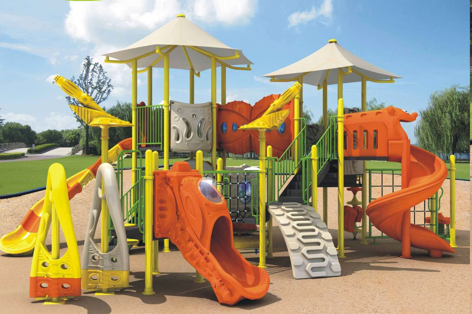 China Outdoor Playground Equipment Ab9009a China