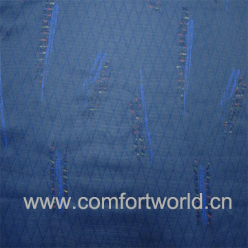 100% Polyester Knitting Jacquard Fabric for Auto