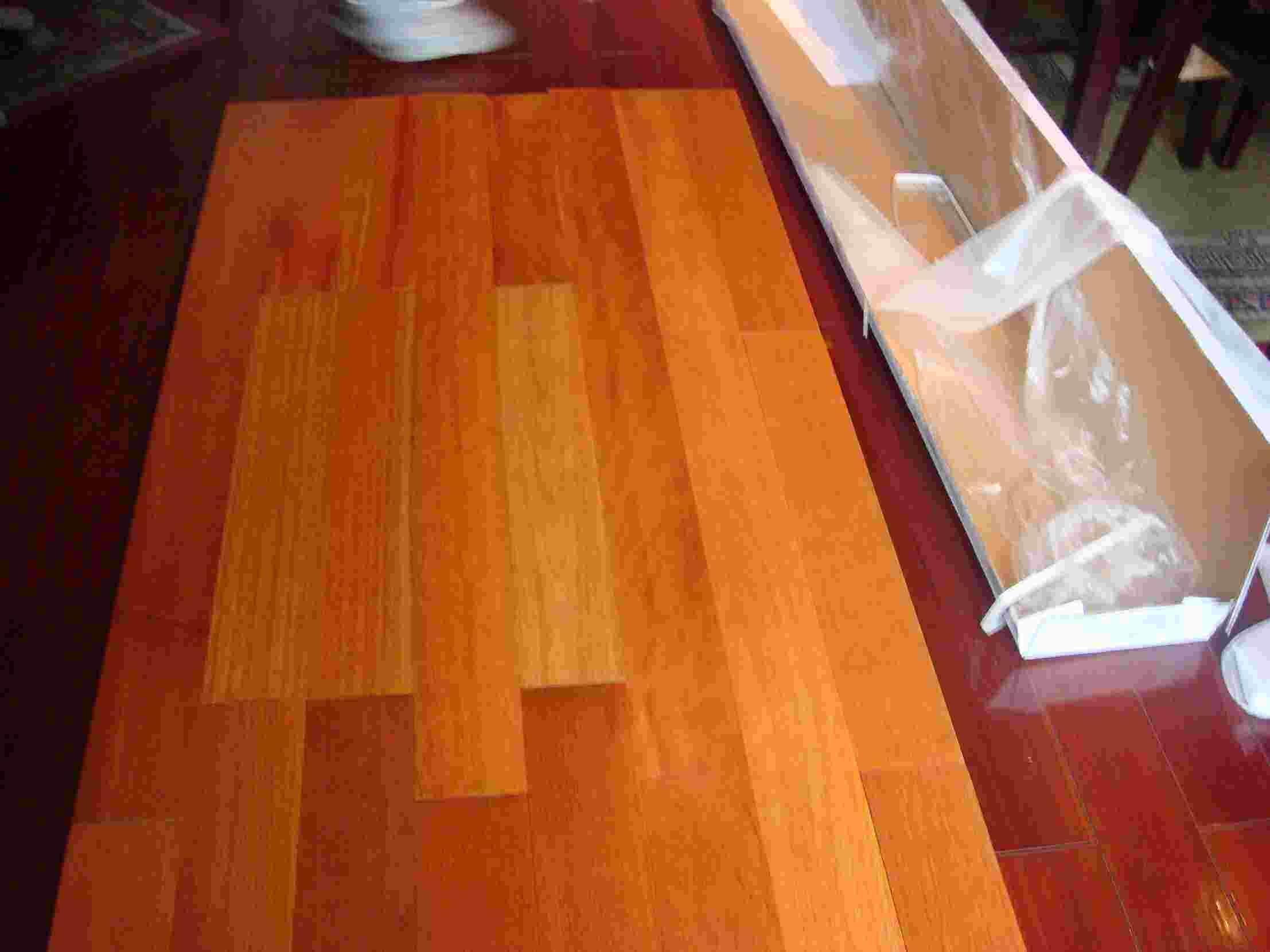 China kempas wood floor china kempas flooring kempas for Kempas hardwood flooring