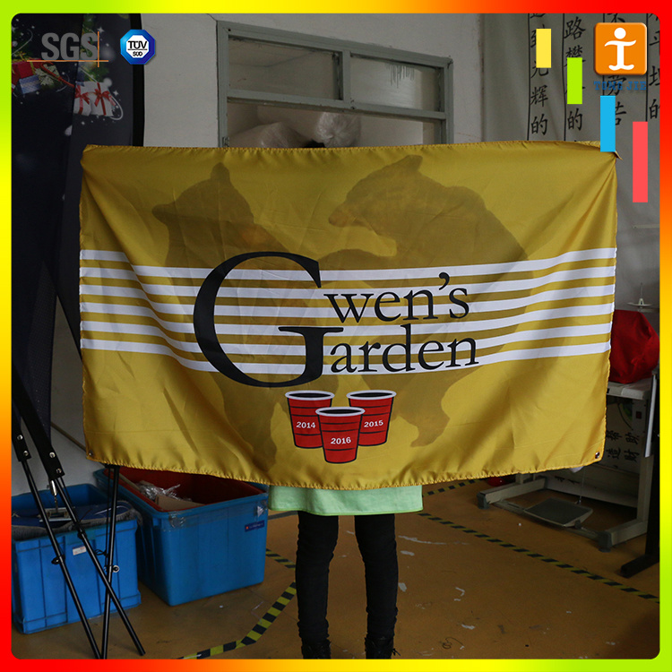 Hanging Advertising Fabric Polyester Banner Printing