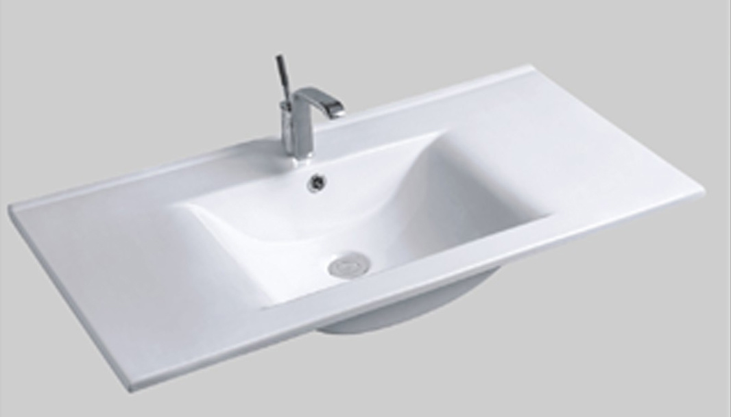 Hot-Sale Single-Bowl Ceramic Basin (ACT9090A)