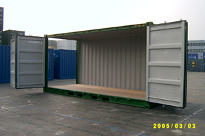 20′/40′open Side Container Full Side Open