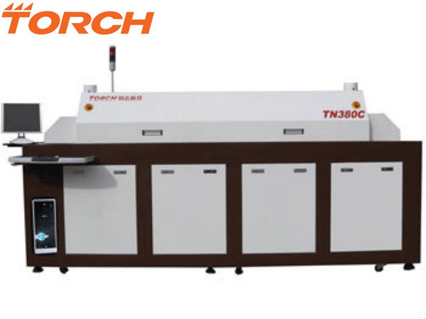 Automatic SMT 8 Heating Zone Infrared Heating Reflow Oven Tn380c (TORCH)