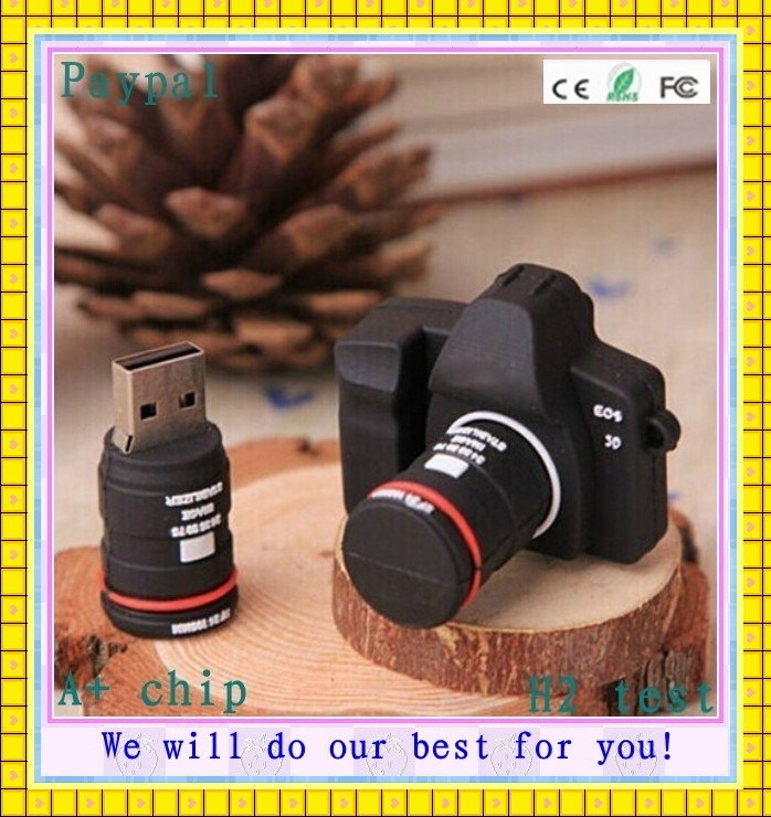 Custom PVC 3D USB Flash Drive Camera (GC-H09)