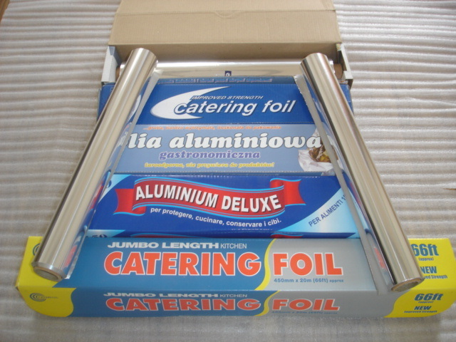 Carry-out Aluminium Foil Wrapping Paper