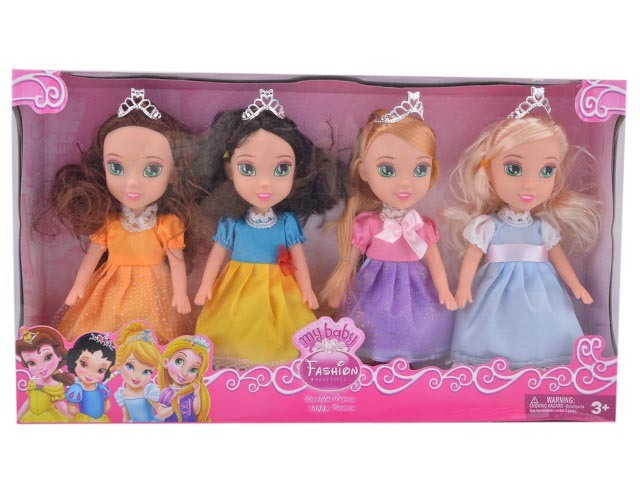 13 Inch Plastic Fashion Beautiful Princess Baby Doll Toy (10227194)