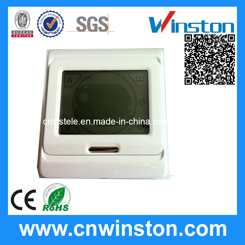 Touch-Screen Programming Thermostat with CE