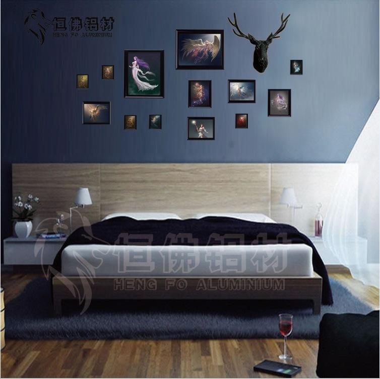 13 Photo Frames Aluminium Frame Album