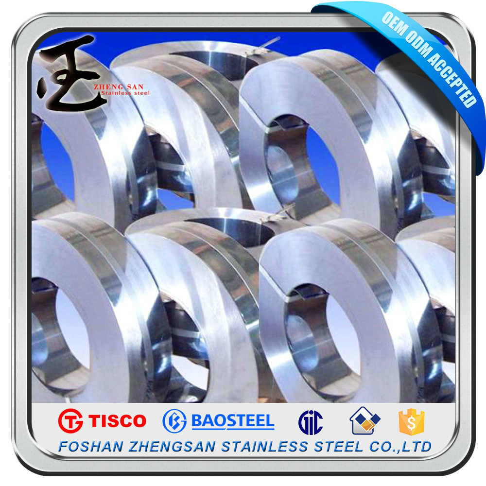 Grade 304 201 Prime Stainless Steel Strips
